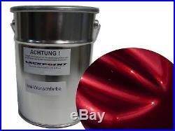 1 Litre Spray-Ready Brilliant Color Candy Red Ink Lasur Car Paint lackpoint