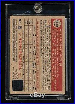 2001 Topps Heritage Willie Mays Red Ink Real One Auto 41/52