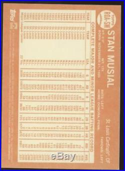 2013 Topps Heritage Stan Musial Real One Red Ink Auto Autograph /32