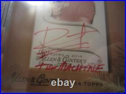 2014 Topps Allen & Ginter Bert Kreischer Auto PRISTINE 10 BGS Autograph Red Ink