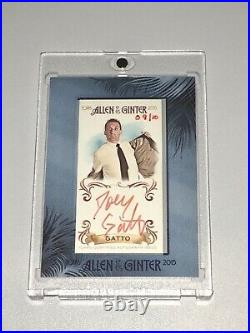 2015 Allen & Ginter Impractical Jokers Joe Gatto #9/10 Red Ink Auto Autograph