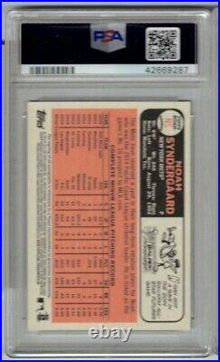 2015 Topps Heritage Noah Syndergaard Real One Auto Red Ink PSA 10 Autograph NS