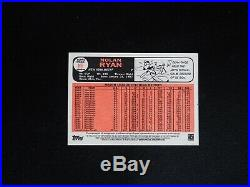 2015 Topps Heritage Nolan Ryan Real One AUTO Autograph Red Ink #11/66 NMMT+ D2B