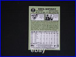 2016 Topps Heritage Kris Bryant Real One Red Ink AUTO Autograph #09/67 MINT D2B