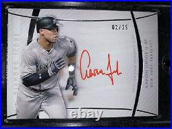 2017 Topps Diamond Icons Red Ink Auto RC Aaron Judge #2/25NY Yankees
