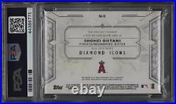 2018 Topps Diamond Icons Red Ink Shohei Ohtani ROOKIE RC AUTO /25 #S0 PSA 10 GEM