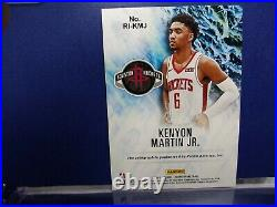 2020-21 NBA HOOPS Kenyon Martin Jr. Rookie INK Auto Red Parallel #23/25 ROCKETS