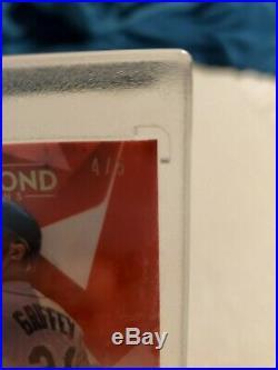2020 Diamond Icons Ken Griffey Jr Red Ink Auto RI-KGJ 4/5