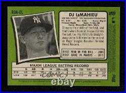 2020 Heritage High Number Real One Special Edition Red Ink /71 DJ LeMahieu Auto