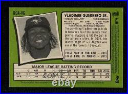 2020 Heritage High Number Special Edition Red Ink /71 Vladimir Guerrero Jr Auto