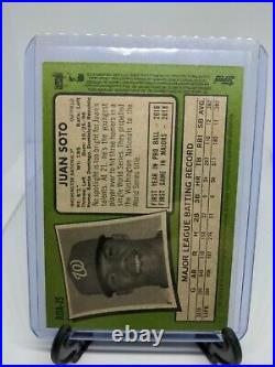 2020 Topps Heritage Baseball High Number Juan Soto Real One Red Ink Auto52/71