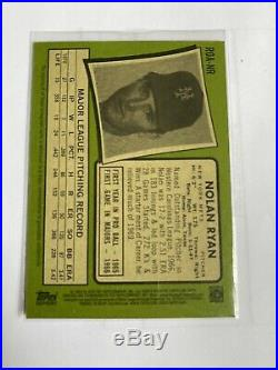 2020 Topps Heritage MLB NOLAN RYAN Real One Autograph Auto Red Ink #/71 ROA-NR
