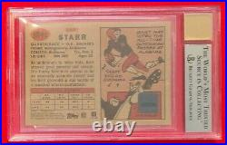 Bart Starr 2002 TOPPS Heritage Real One Red Ink Auto SP /57 BGS 8.5 Rare! POP 3
