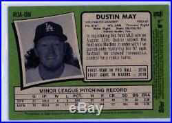 DUSTIN MAY 2020 Topps Heritage Red Ink Rookie Card RC Auto Autograph 44/71