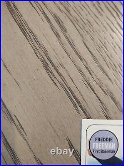 FREDDIE FREEMAN 2018 Topps Heritage RED INK AUTO 21/69 SSP! ATLANTA BRAVES