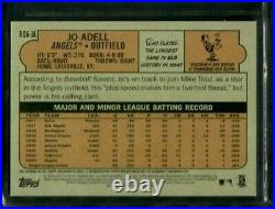 JO ADELL 2021 Topps Heritage Baseball #/72 RED INK AUTO SSP SP RC ROOKIE ROA-JA