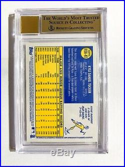 Kyle Tucker 2019 Topps Heritage Red Ink Auto Autograph RC /70 BGS 9.5/10 Astros